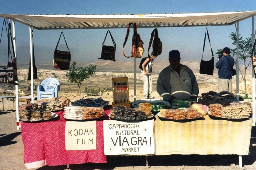 Natural Viagra in Cappadocia Turkey. Funny Travel Photo
