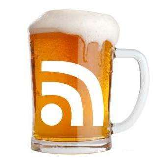 rss feed icon beer travel tips  photo image