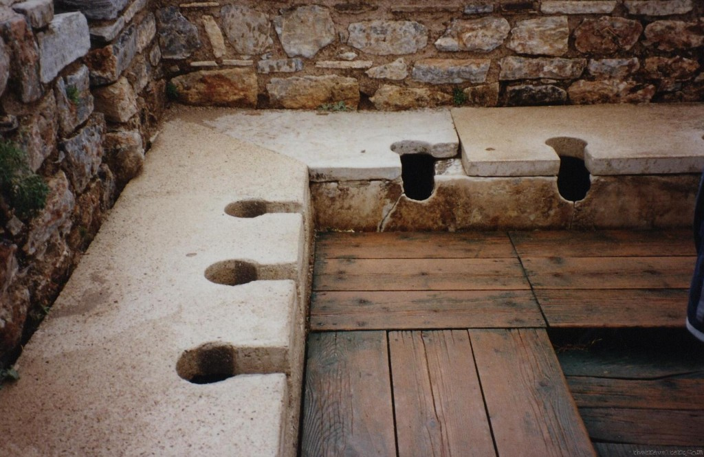 Toilet History - The Roman Flush Toilet