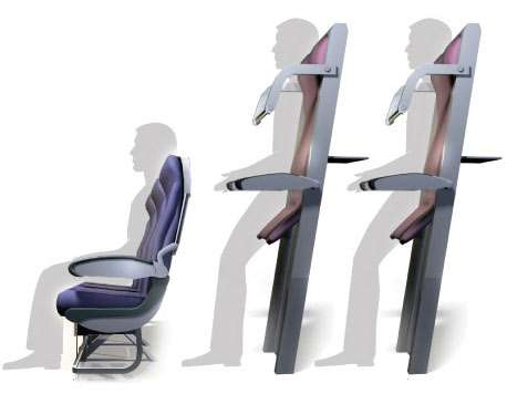 vertical seating air travel  photo