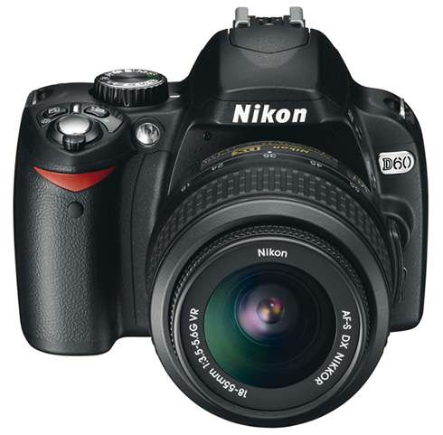 Nikon D60 SLR Camera Digital Travel Gadget  photo image