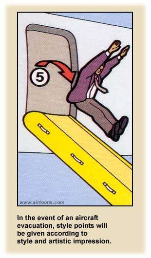 Airline Safety Card style air travel  photo