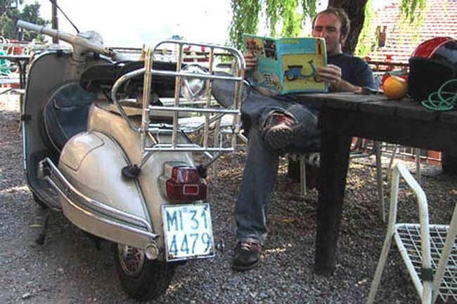 Peter Moore Vespa Vroom With A View interviews australia  photo