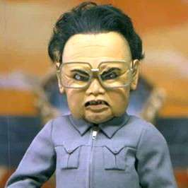 kim jong il puppet team america south africa  photo