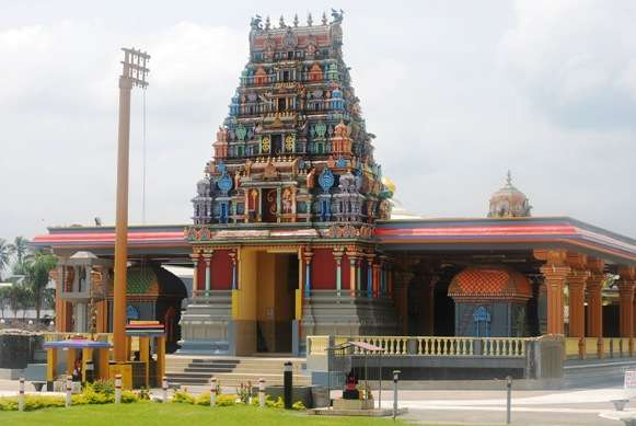 Biggest Hindu Temple in Southern Hempishere Fiji fiji  photo image