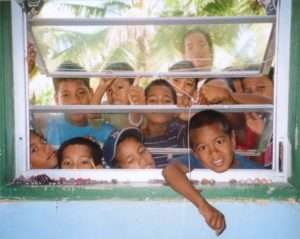 Teaching English To Marshall Island Kids