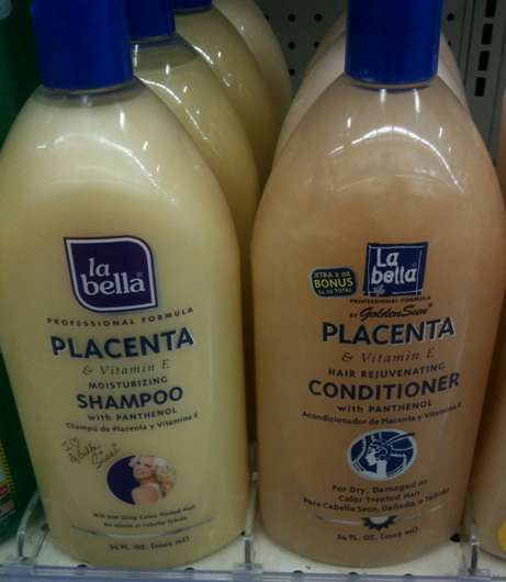 The Placenta Shampoo and Conditioner - Odd Travel Photo
