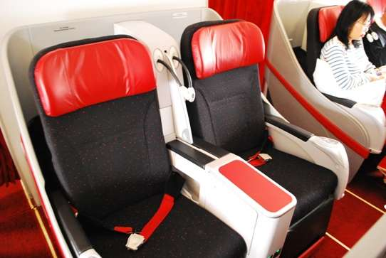 Flat Bed Seats Air Asia air travel  photo