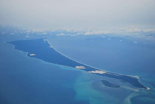 Moreton Island View Air Asia air travel  photo image