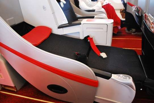 Premium Class Seats Air Asia air travel  photo image