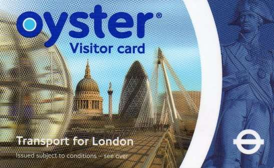 Oyster Card - London Underground Pass | The Travel Tart Blog