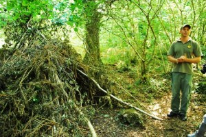 Wilderness Survival Skills and Tips - Building a Shelter