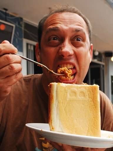 Funny Curry Bunny Chow south africa  photo image