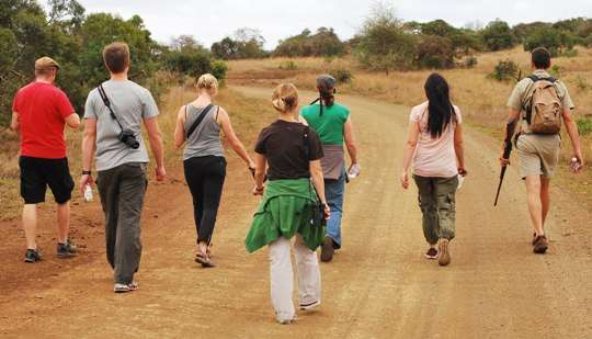 Walking Safaris Phinda Private Game Reserve south africa  photo image
