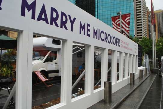 Marry Me Microsoft australia  photo
