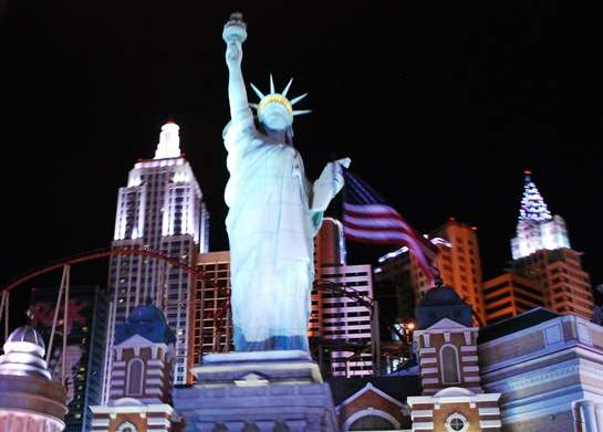New York New York Casino Las Vegas united states  photo