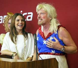 Richard Branson Drag