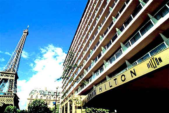 Paris Hilton Full Frontal Hotel1 france  photo