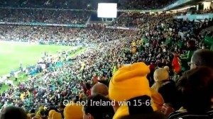 Australia vs Ireland Rugby Eden Park Auckland New Zealand