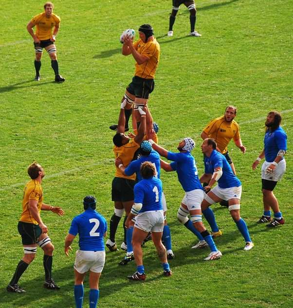 Rugby Games Australia vs Italy Lineout the great crusade new zealand  photo