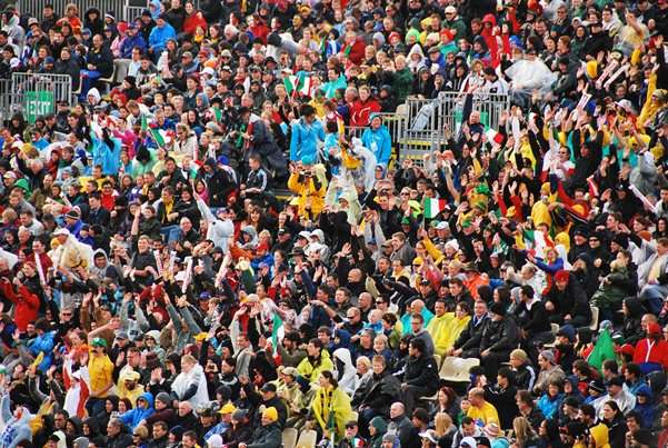 Rugby Union Crowd the great crusade new zealand  photo