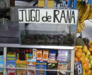 Travel Sights Frog Juice - Jugo de Rana