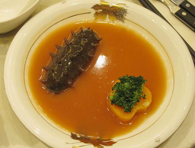 Bizarre Food - Sea Slug Soup