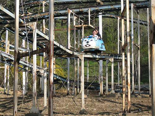 North Korean Theme Parks travel satire  photo image