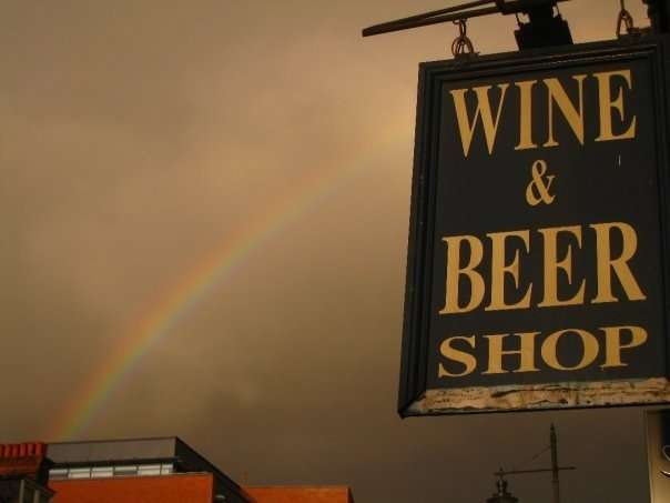 Funny Pub Photos Pot Of Gold At The End Of The Rainbow england  photo image