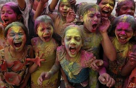 Holi Festival Photo in India Wanderers Photo india  photo
