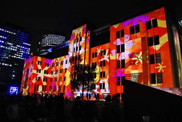 Building Illumination australia  photo