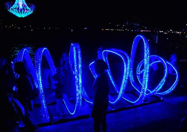 Lighting Display Vivid Festival australia  photo