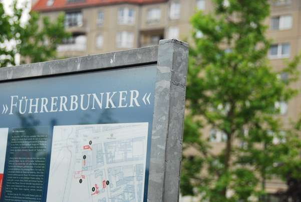 Adolf Hitlers Bunker Is A Carpark Downfall Film Parody Time germany  photo image
