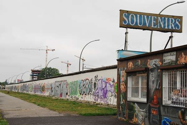 Berlin Wall Sovenirs germany  photo image
