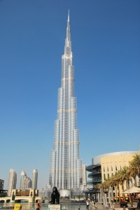 The World's Tallest Building - Burj Khalifa in Dubai UAE