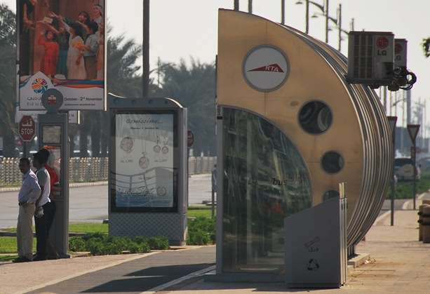 Travel Dubai Public Transport by Bus united arab emirates  photo image