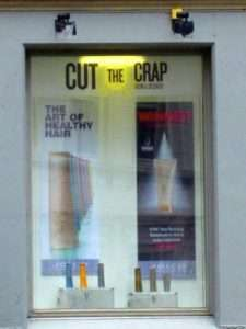 Cut The Crap - Funny Hair Salon Name