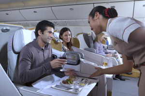 Emirates Airlines Business Class Review Boeing 777 Meal