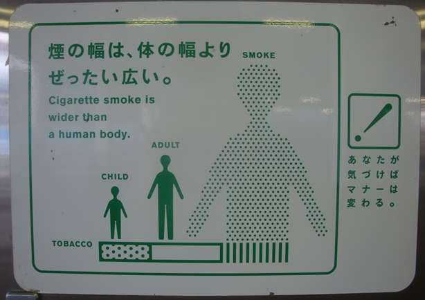 Smoking Cessation - Funny Stop Smoking Sign