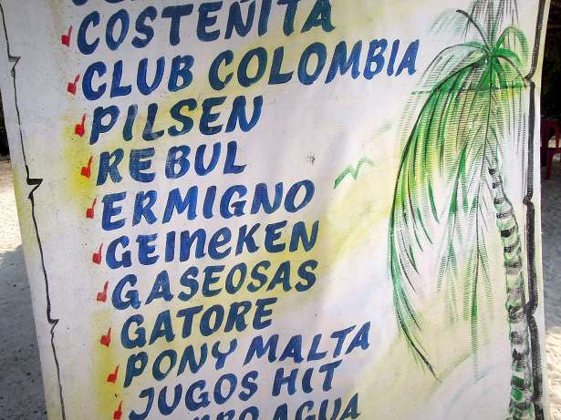 Spanish Translations - Spanglish Colombian Drinks