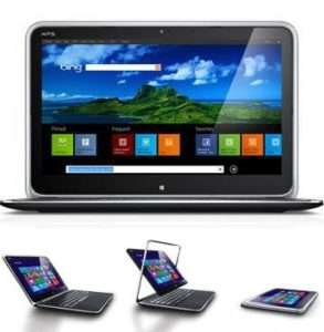 Tablet Laptop All In One Review - The Dell XPS12 for Travel