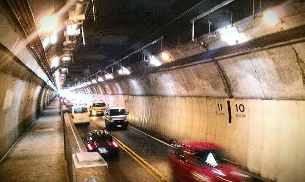 Road Tunnel - Wellington New Zealand
