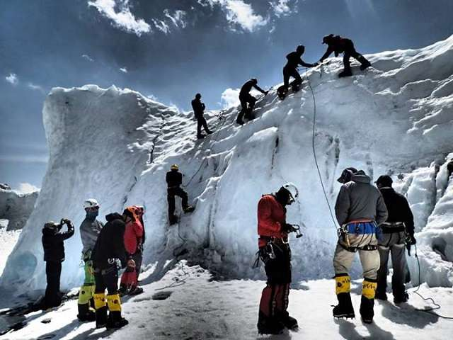 Mountaineering in Himalayas interviews  photo