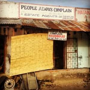 Best Hardware Store - People Always Complain in Malawi