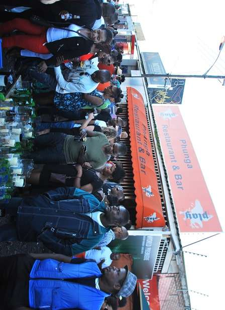 Street Party Cape Town South Africa