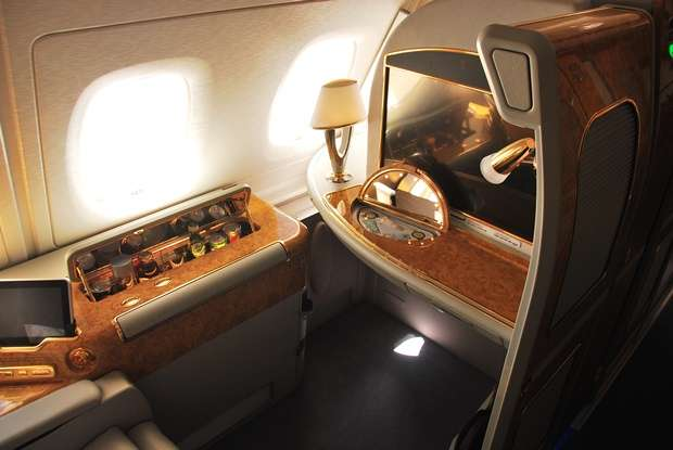 Emirates A380 First Class Suites air travel  photo