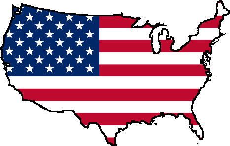 Living In United States - Country Flag