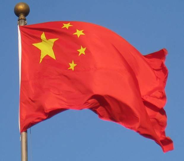 Living In China - Chinese Flag