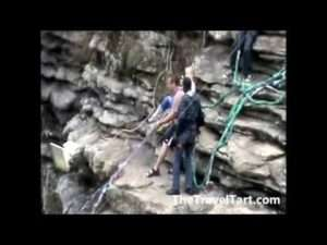 Video thumbnail for youtube video World's Highest Bungy Swing | The Travel Tart Blog