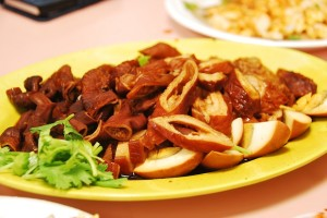 Pig Intestine Dishes
